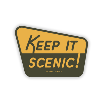 Keep It Scenic National Forest Sticker Decal