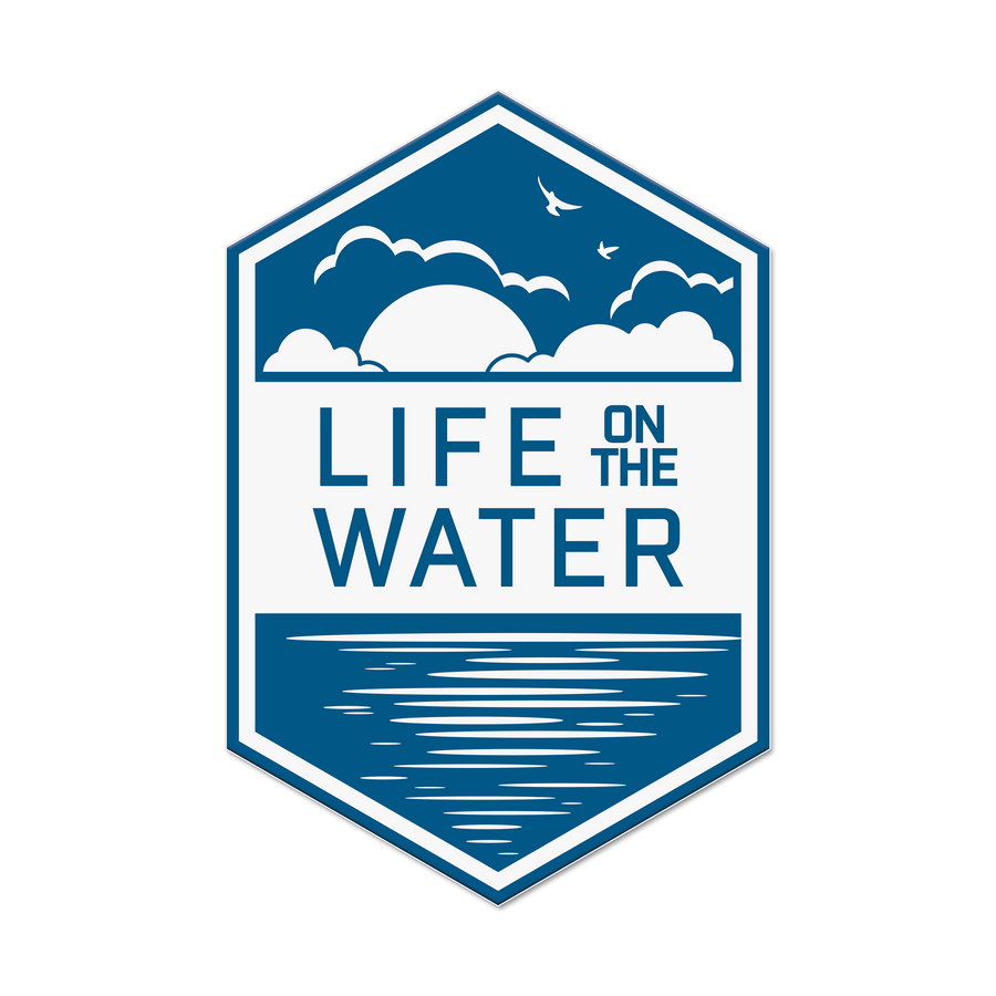Life on the Water Sticker Decal