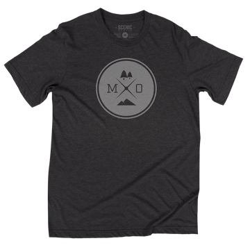 MO Adventure Tee | Unisex | Dark Grey Heather