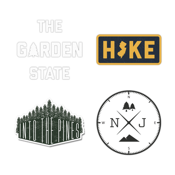 Garden State Sticker Pack