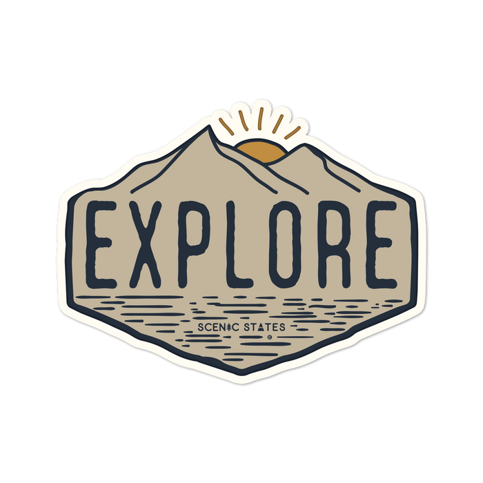 Explore Vinyl Sticker Decal