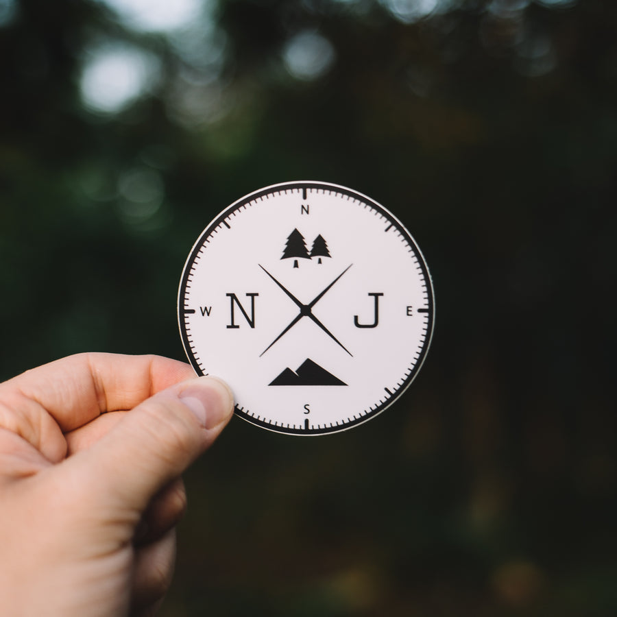 New Jersey State Park Sticker