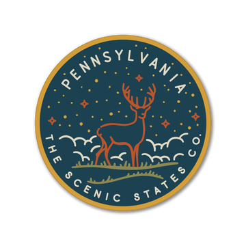Pennsylvania Deer Sticker