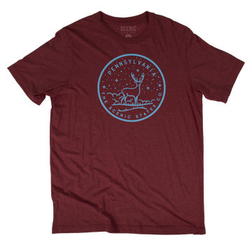 Pennsylvania Buck Tee Shirt