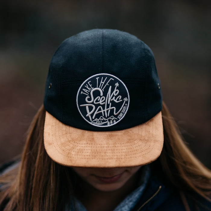 Scenic Path 5-Panel Camper Hat