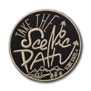Take The Scenic Path Patch