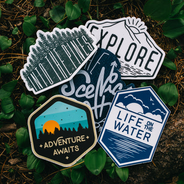 Scenic States Sticker and Decal Pack