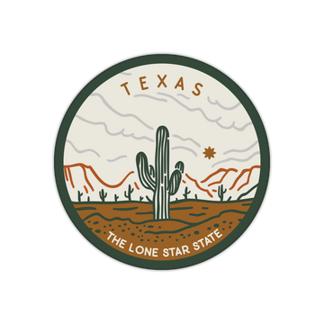 The Lone Star State Texas Sticker Decal
