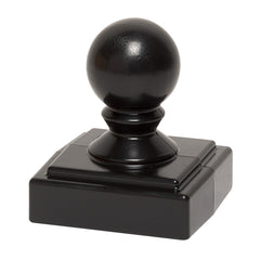 Whitehall Products Ball Finial Post Cap for Mailbox Post