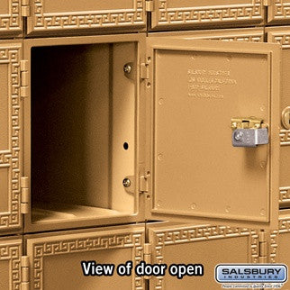 Salsbury Industries Americana Mailbox with 16 Doors Front Loading