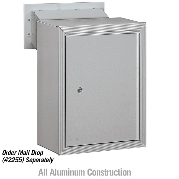Salsbury Industries Receptacle Option for Mail Drop with Pass Through