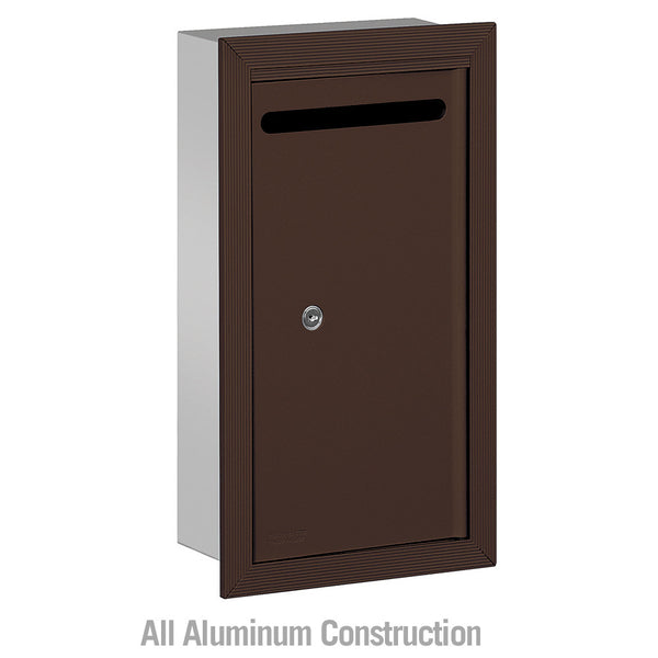 Slim Letter Box - Recessed Mounted