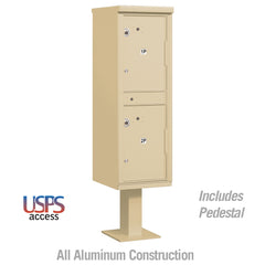 Salisbury Industries 2 Compartments Outdoor Parcel Locker 2 Compartments
