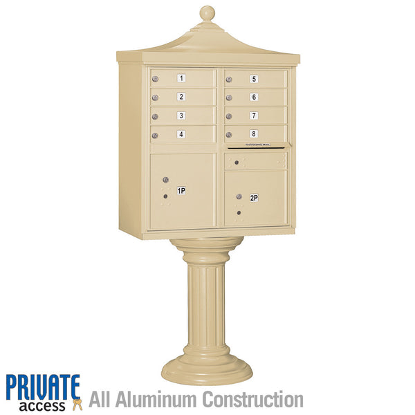 Regency Decorative CBU with 8 A Size Doors - Type I