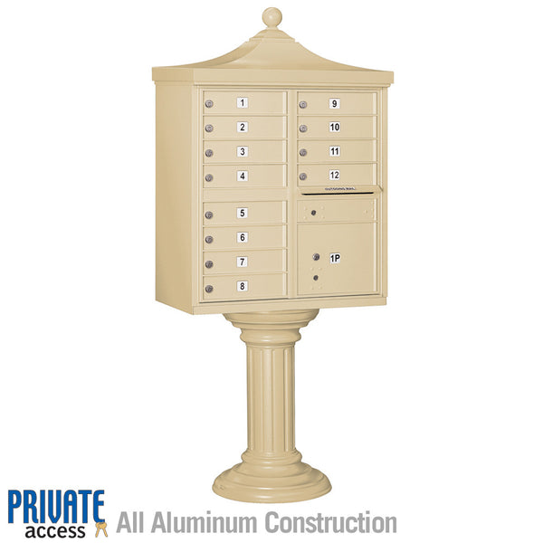 Regency Decorative CBU with 12 A Size Doors - Type II