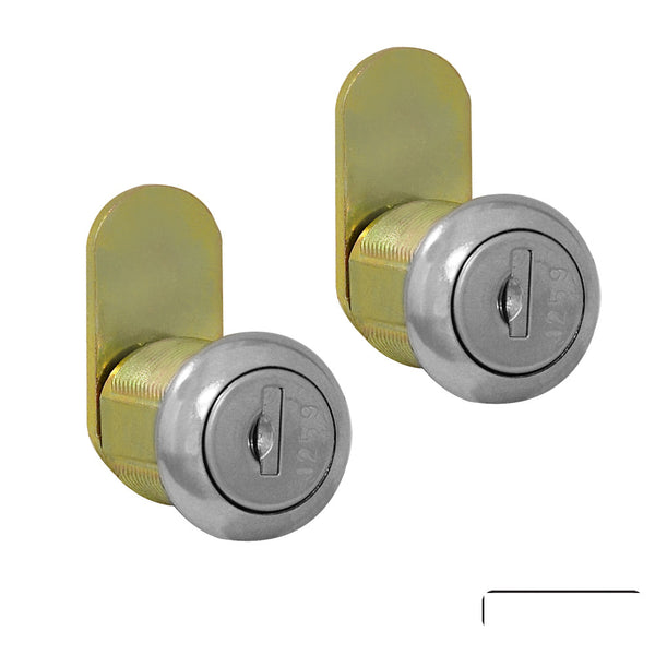 Salsbury Industries Lock Set (2) Standard Replacement Locks for Roadside Mailbox with keys