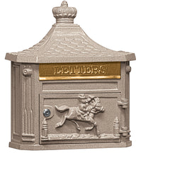 Salisbury Industries Victorian Wall Mounted Residential Mailbox; 4460