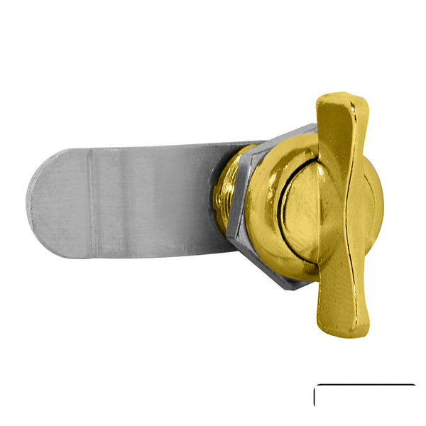 Salsbury Industries Thumb Latch Option for Victorian Mailbox Gold Finish
