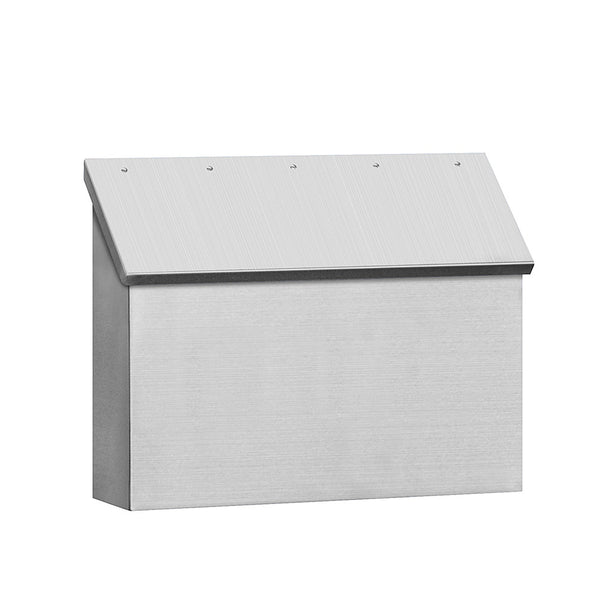Salsbury Industries Standard Horizontal Style Stainless Steel Mailbox