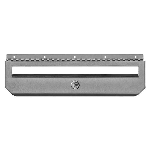 Salsbury Industries Horizontal Style Security Kit Option for Stainless Steel Mailbox with (2) Keys