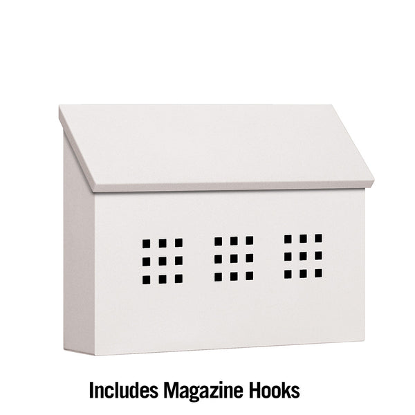 Decorative Horizontal Style Traditional Mailbox