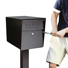 Mail Boss Curbside Large Capacity Locking Security Mailbox