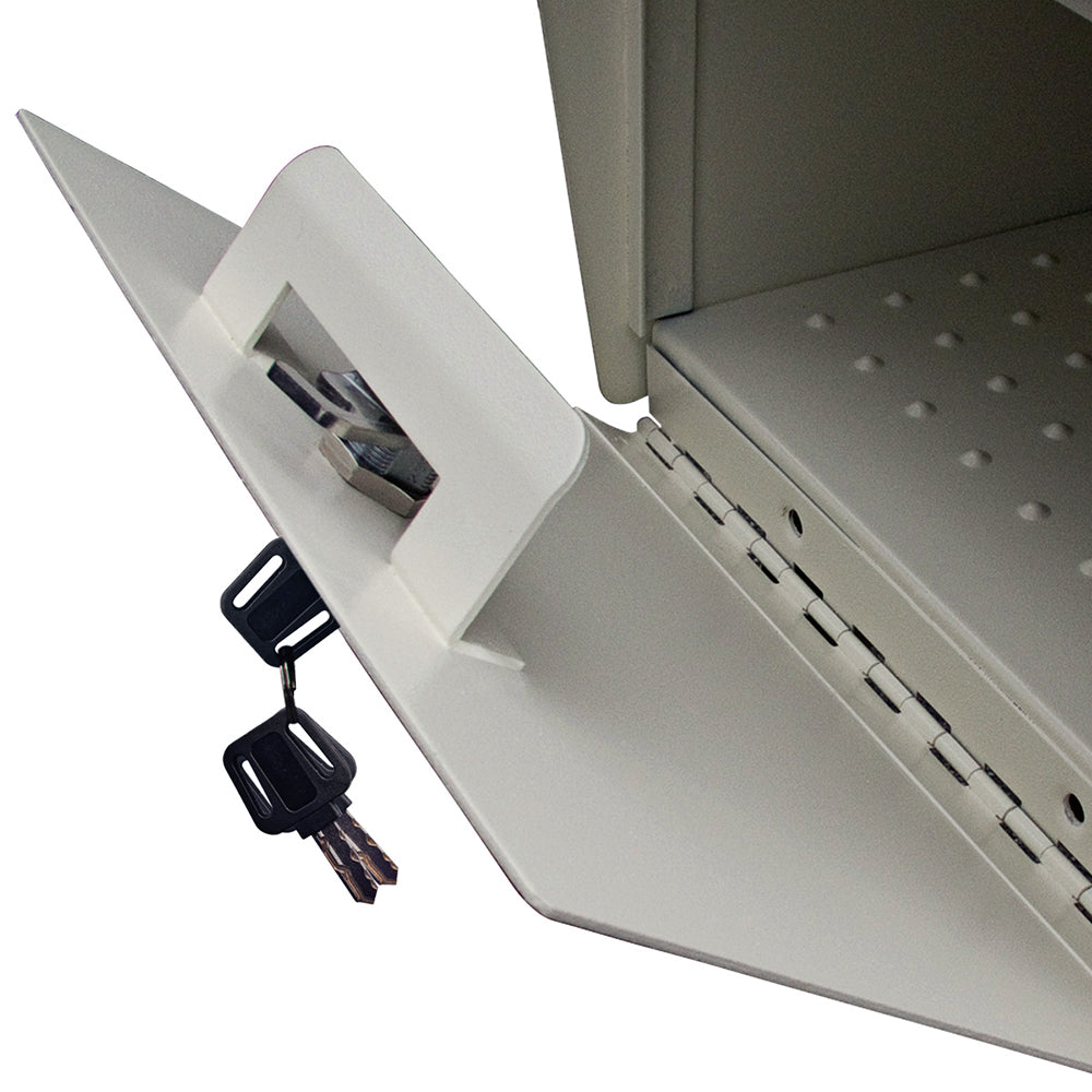 Mail Boss Townhouse Security Locking Wall Mount Mailbox