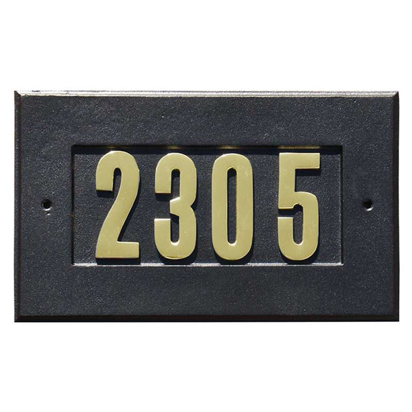 QualArc Manchester Custom Address Plaque
