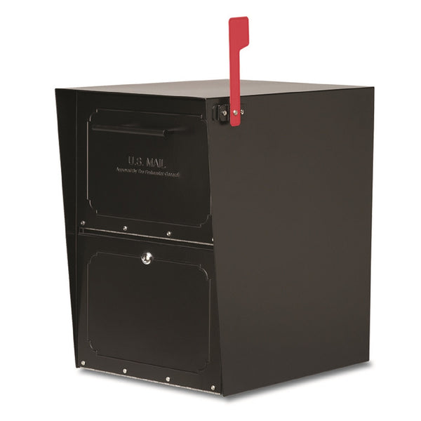 Architectural Mailboxes Metal Lockable Post Mount Mailbox