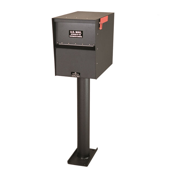 Jayco Industries Aluminum Standard Rear Access Letter Locker Mailbox