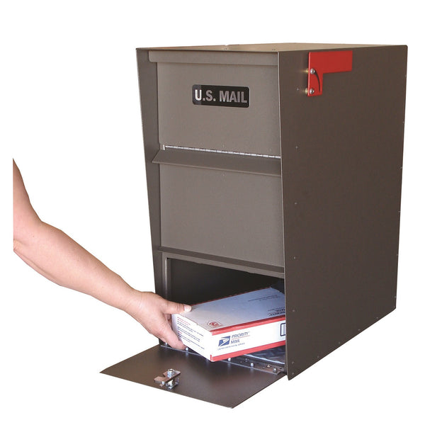 Jayco Industries Aluminum Super Letter Locker Large Mailbox