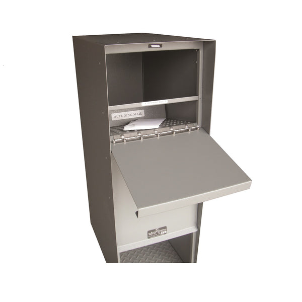 Jayco Industries Stainless Steel Supreme Letter Locker Large Mailbox