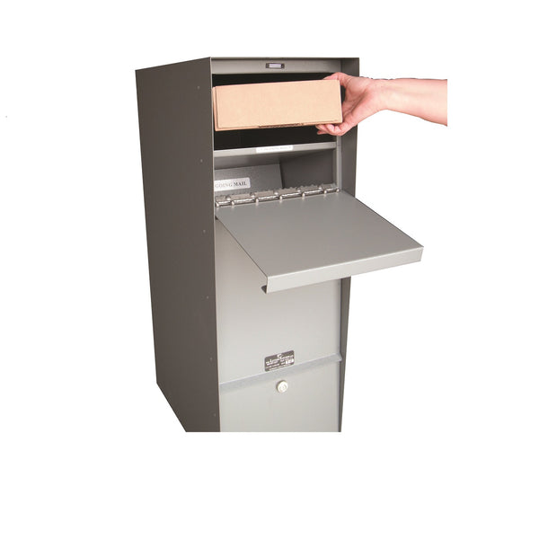 Jayco Industries Aluminum Supreme Letter Locker Large Mailbox