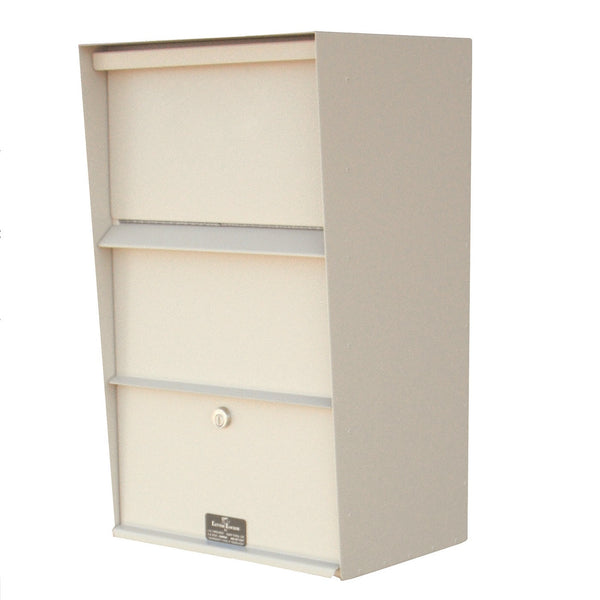 Jayco Industries Large Vertical Wall Mount Letter Locker Mailbox