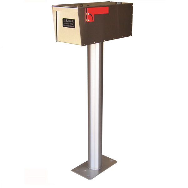 Jayco Industries Heavy Duty Steel Non Locking Rural Letter Locker Mailbox 12G Box & Door