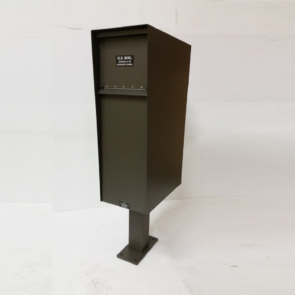 Jayco Industries Aluminum Supreme Letter Locker Rear Access Mailbox
