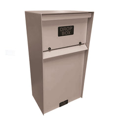 Jayco Industries Slotted Vertical Locking Wall Mount Drop Box