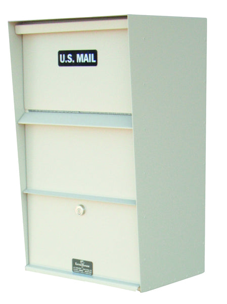 Jayco Industries Aluminum Large Vertical Wall Mount Drop Box