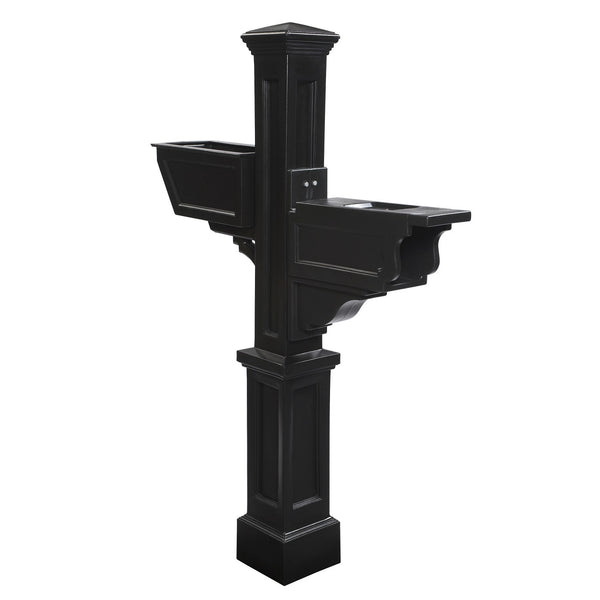 Mayne Signature Plus Plastic Residential Commercial Mailbox Post