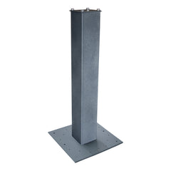 "Mail Boss 27"" Surface Mount Post with Base Plate"