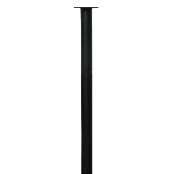 QualArc Hanford Single Residential Mailbox Post System Cast Aluminum