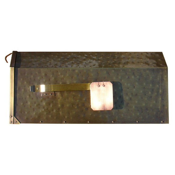 Qualarc Provincial Collection Brass Wall Mounted Mailbox