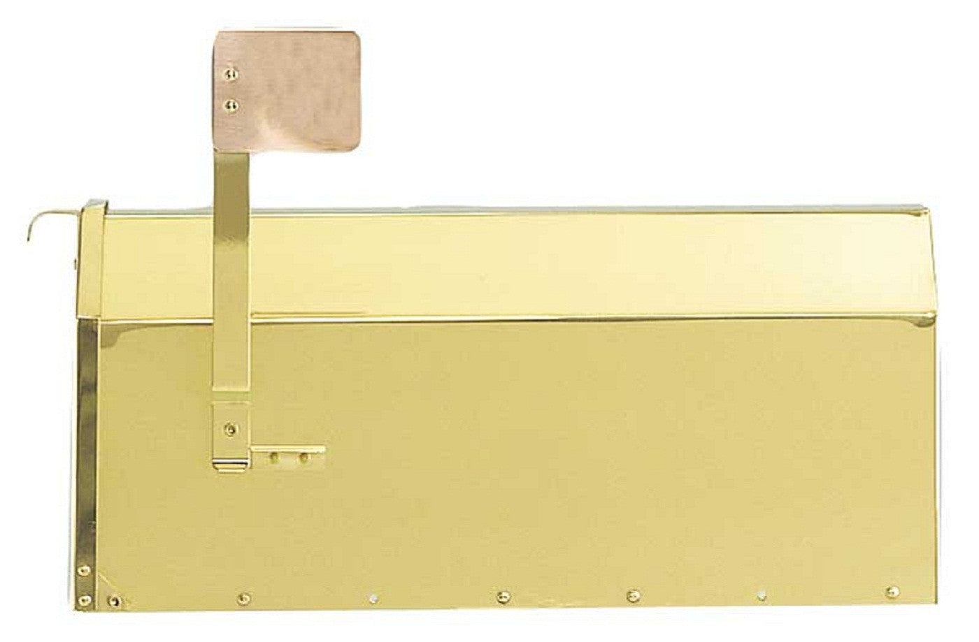 QualArc Provincial Collection Brass Wall Mounted Mailbox MB-1000 ...
