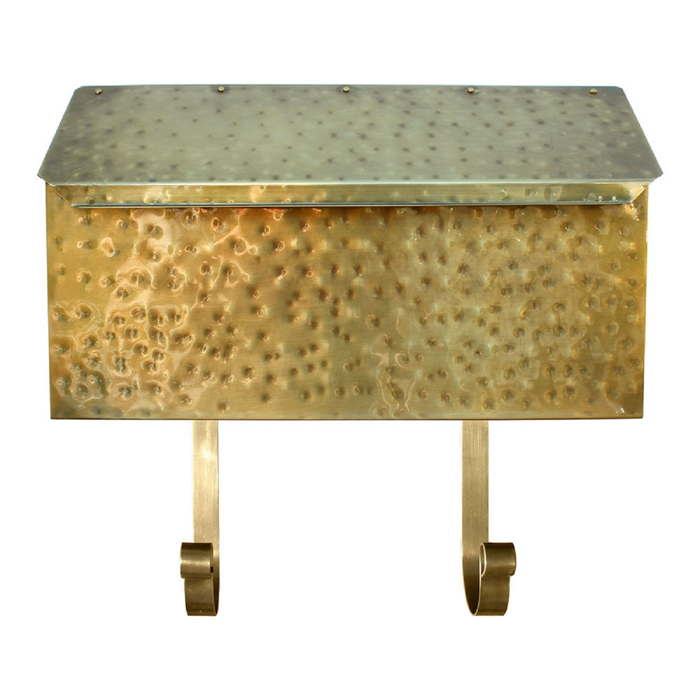 Qualarc Provincial Horizontal Collection Brass Mailbox Mb