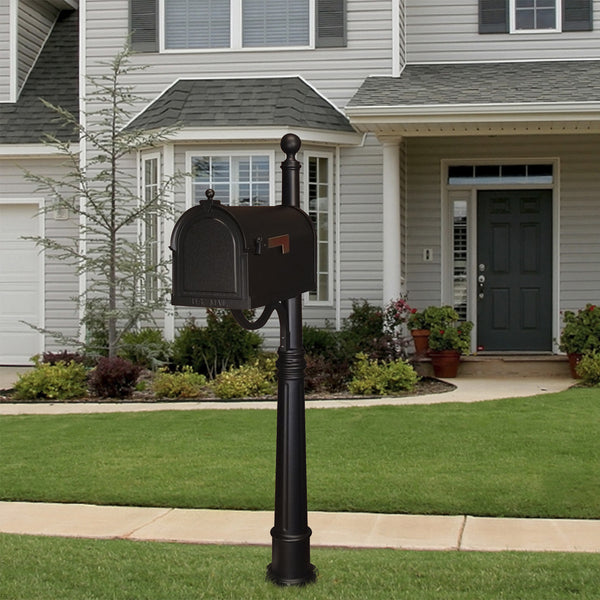 Special Lite Berkshire Curbside Mailbox With Ashland