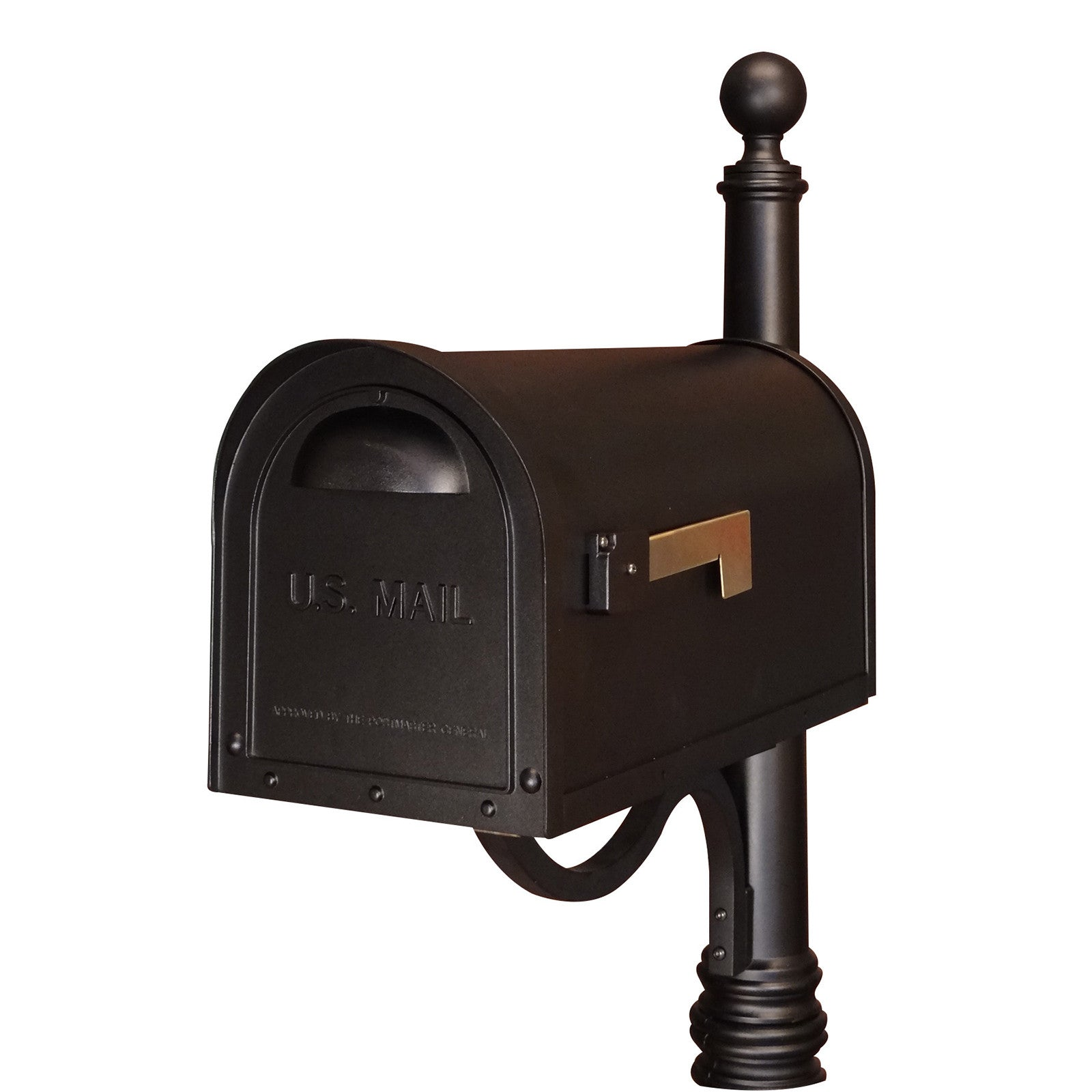Special Lite Classic Curbside Post Mount Mailbox Scc 1008