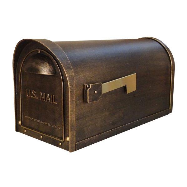 Special Lite Classic Curbside Post Mount Mailbox; SCC-1008