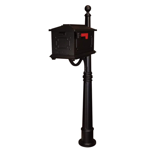Special Lite Kingston Curbside Mailbox with Ashland Mailbox Post Unit
