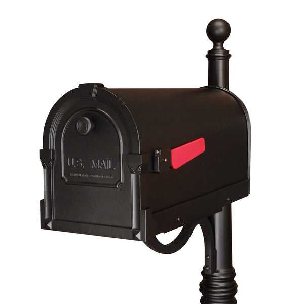 Special Lite Products Savannah Curbside Post Mount Mailbox