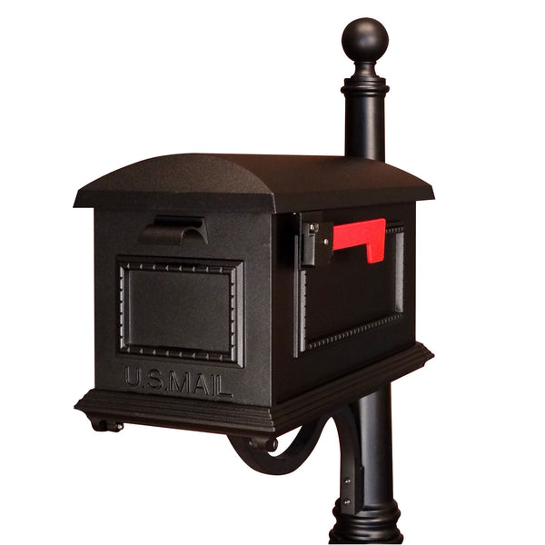 Special Lite Traditional Curbside Post Mount Mailbox